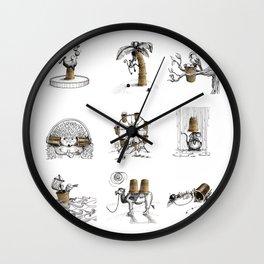 Thimbles Wall Clock