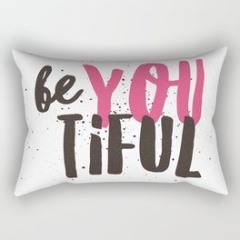 beYOUtiful Rectangular Pillow