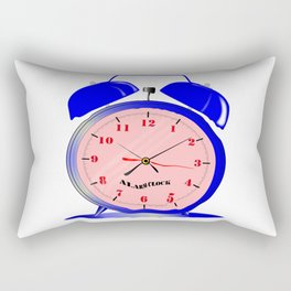 Fluid Time Rectangular Pillow