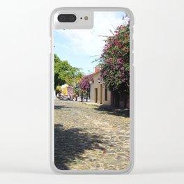 Colonia del Sacramento Clear iPhone Case