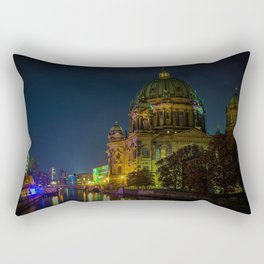 Berline Cathedral, Berlin, Germany Photographic Rectangular Pillow