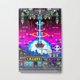 FINAL BOSS - Variant version Metal Print