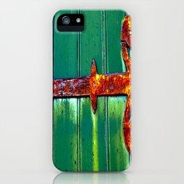 Rustic Hinge iPhone Case
