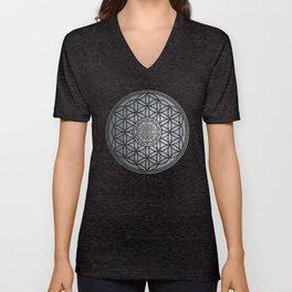 Sacred Unity - Sacred Geometry Unisex V-Neck