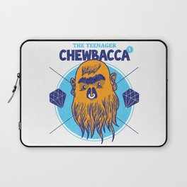 Hipster Chewie Laptop Sleeve
