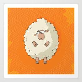 Giant Sheep Art Print
