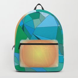 Landscape - geomertic work Backpack
