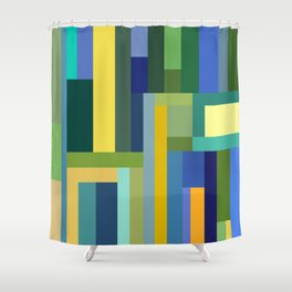 Forest Green Shower Curtain