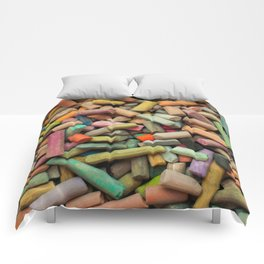 colored pastel chalks Comforters
