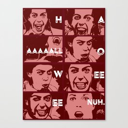 Tim Curry - Halloween - The Worst Witch - Grand Wizard Canvas Print
