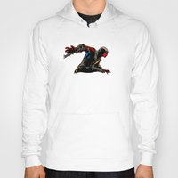 the mortal instruments Hoodies featuring Mortal Spider X by barmalisiRTB
