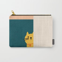 Little_Cat_Cute_Minimalism Carry-All Pouch