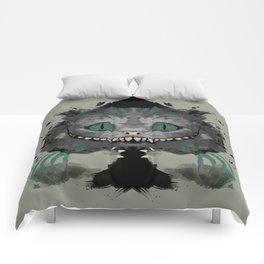 Cat of Spades Comforters