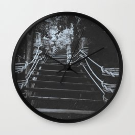 The stairway  Wall Clock