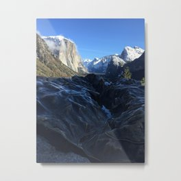 Tunnel View Through the Bronz Metal Print