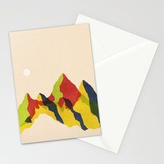 Mountains Remix (fifty-four) Stationery Cards