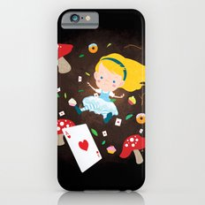 Alice Falling Down the Rabbit Hole iPhone 6s Slim Case