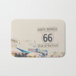 the end of route 66 ... Bath Mat