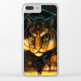 Guardian of the Fire Clear iPhone Case