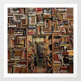 So many books, so little time. Art Print