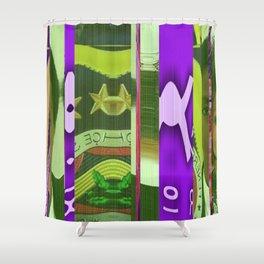 Clemson in Lauryn Shower Curtain