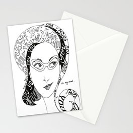 Always on my Mind Stationery Cards