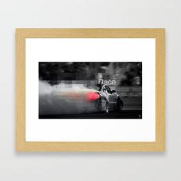 RaCe CaR>>> Framed Art Print