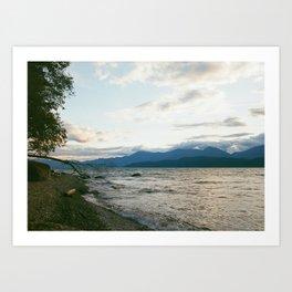 Beach'n Sunset Art Print