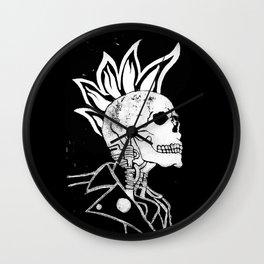 Ride or Die - Back in Black Wall Clock