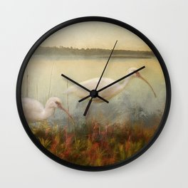 North Carolina Ibis Wall Clock
