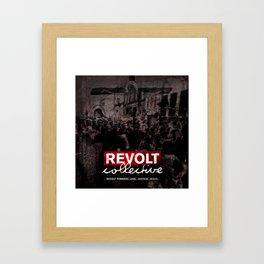 Revolt : Black Friday Framed Art Print