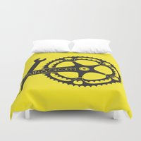 pain Duvet Covers featuring Pain & Glory by muffa