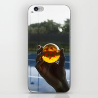 dragon ball iPhone & iPod Skins featuring TENNIS(DRGN)BALL. by FREE$MONEY