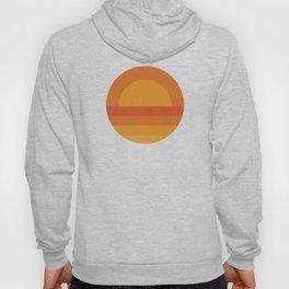Retro Geometric Sunset Hoody