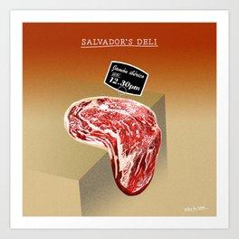 Salvador's Deli Art Print