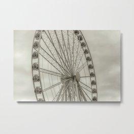 Seattle Great Wheel II Metal Print