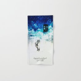 Beyond the clouds | Doctor Who Hand & Bath Towel