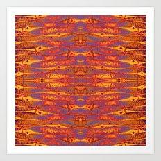 PANDANUS BATIK Art Print