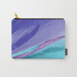 Silky Pastel Waves Carry-All Pouch