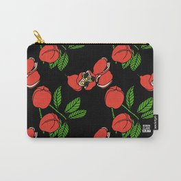 Ackee on Black Carry-All Pouch