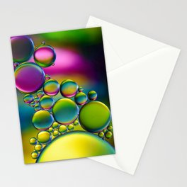 """""""Spherical Joining"""" - Oil and Water Stationery Cards"""