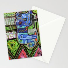 Blue Guy Stationery Cards