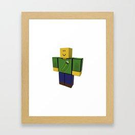 High IQ Jobel Framed Art Print
