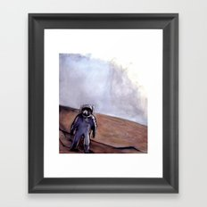 The Rust Coloured Soil (Scene) Framed Art Print