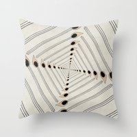charmaine Throw Pillows featuring Playing with Matches by eye in the sky