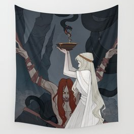 The Punishment of Loki Wall Tapestry