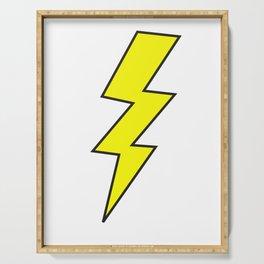 Lightning Bolt Serving Tray