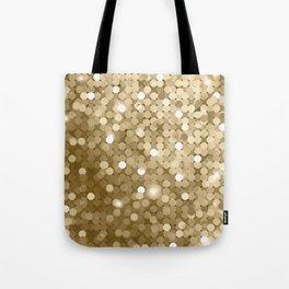 Gold glitter texture Tote Bag