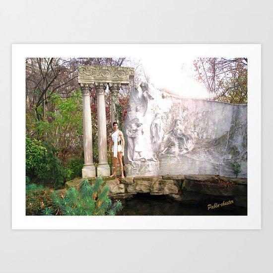 Adonis garden Art Print