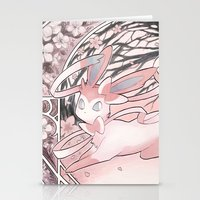 sylveon Stationery Cards featuring Sylv by Weissidian
